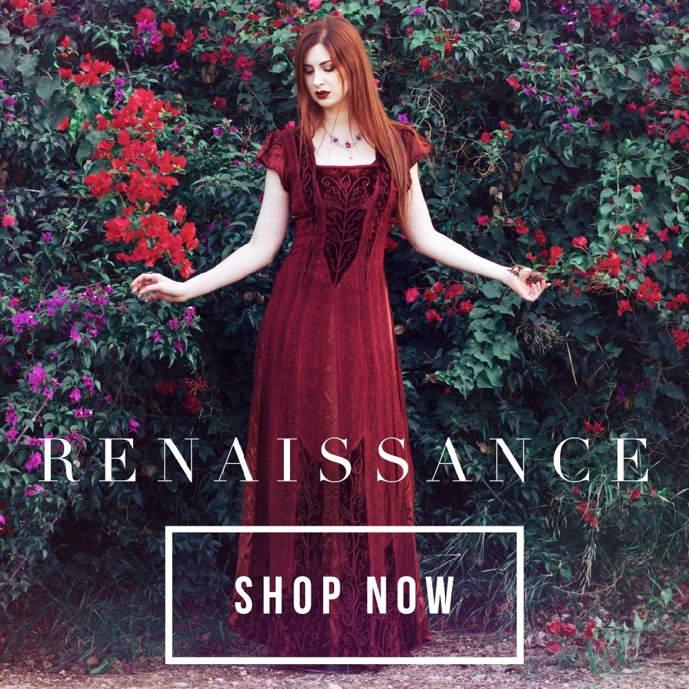 Timeless Boho Renaissance Fashions Unique Ethical S 5x
