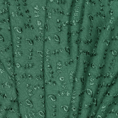 Embroidered Rayon Fabric