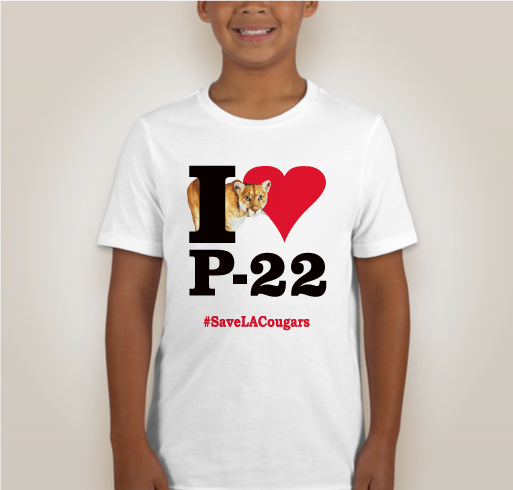 I Heart P-22 Shirts KIDS
