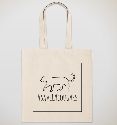 #SaveLACougars Canvas Tote