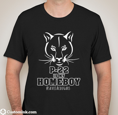 P-22 Is My Homeboy T-shirt Unisex ADULT