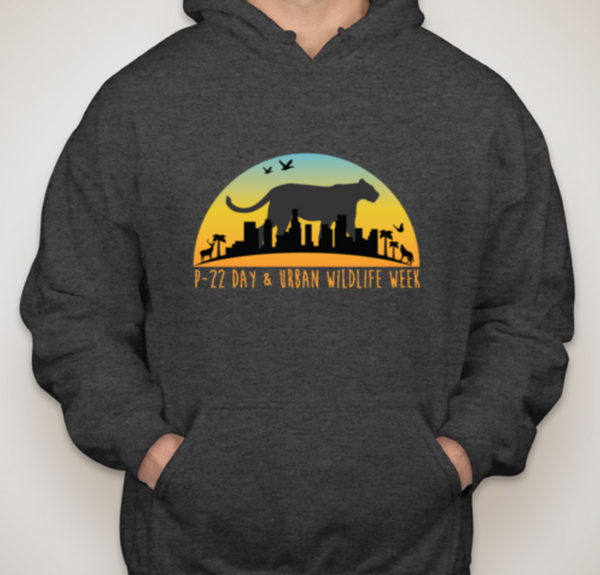 Urban Wildlife Week and P-22 Day Hoodie - Charcoal