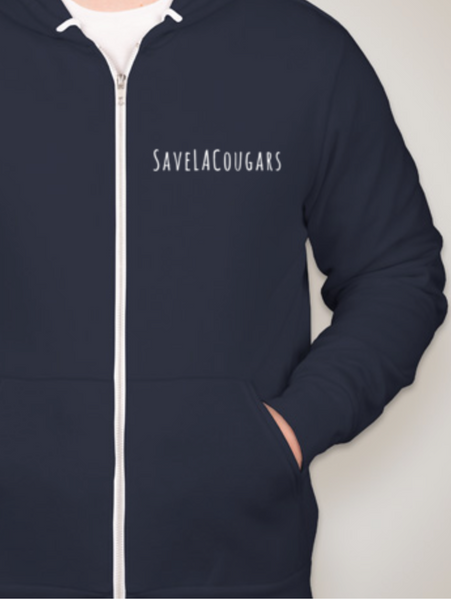 SaveLACougars Hoodie - NEW COLOR!