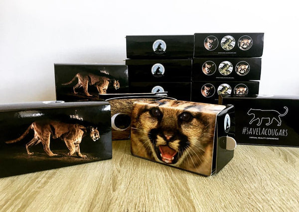 #SaveLACougars Virtual Reality Google Cardboard Headsets