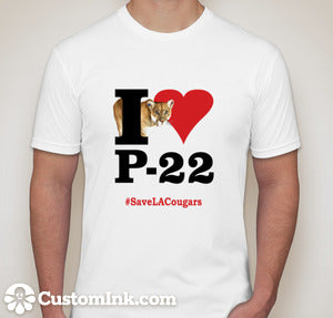 I Heart P-22 Shirts Unisex ADULT