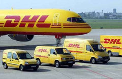 We ship internationally by DHL