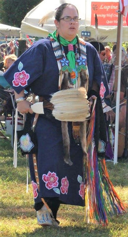 Iron-Hill Center PowWow, Sept2018,Maureen - Native-American