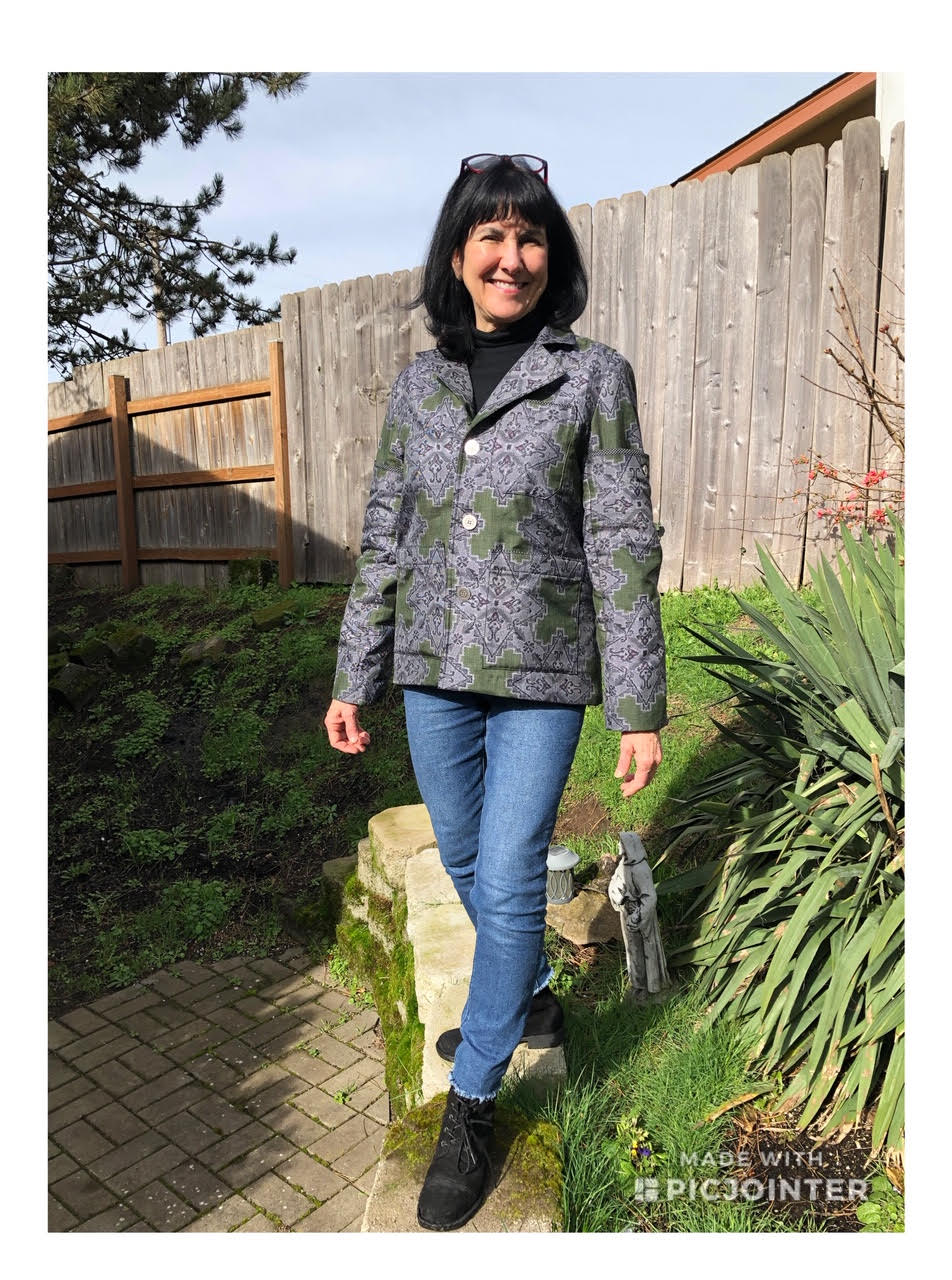 Carol Lambright, Review of coat from ohshima