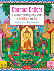 Dharma Delight: Book Cover, Tuttle Press