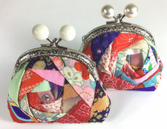 Hand-made change-purses, accessories pins and more by YokoDana Kimono, available at venues only