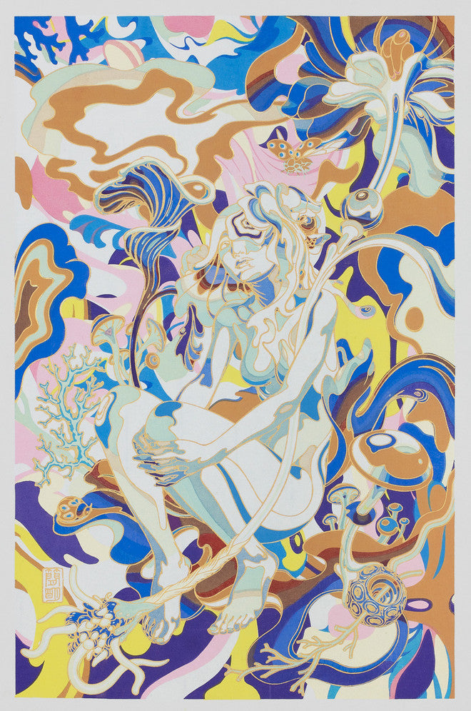 James Jean Contemporary Ukiyoe