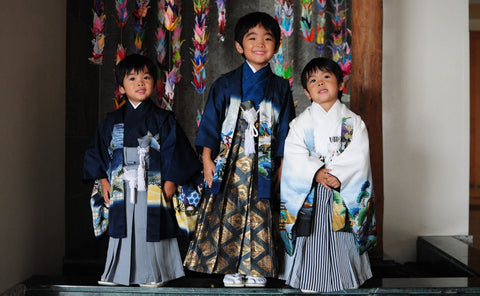 Shichi-Go-San (7-5-3 Childrens Holiday) picture from Japan Cultural Center of Hawai'i