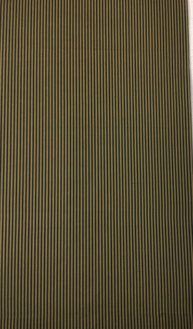 5495 striped vintage Japanese silk kimono fabric, 1 yard view