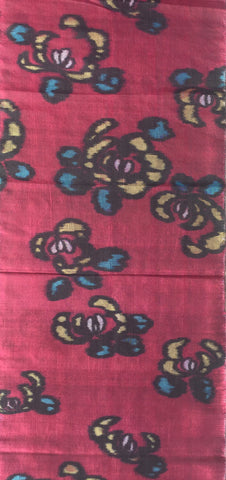 5634: 1950s meisen silk piece, full view