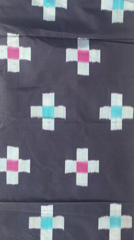 5635: 1950s Japanese meisen silk by yard