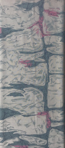 5700 1980s Japanese silk, full 1 yard view
