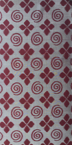 5707 1950 Japanese Meisen Silk Fabric 1 yd view