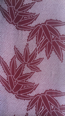 5986:1960's Japanese Silk, half yard view