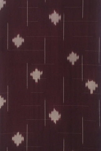 6049: 1950s Japanese silk, partial,1/5length