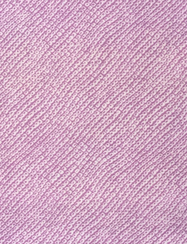 6092: 1960s mock-shibori muslin, close1