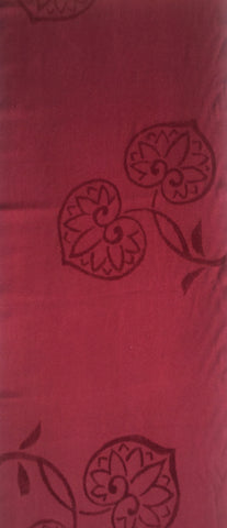 6143: 1950s Japanese silk  1/2 length view