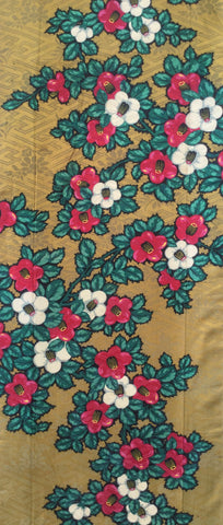 6144: 1960s Japanese silk, full view