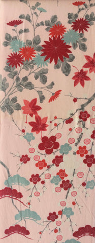 6362: 1930s Japanese Silk, long view(1yd)