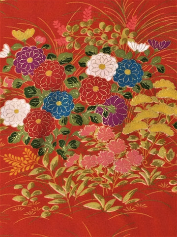 6374: 1960s Japanese Silk, close2