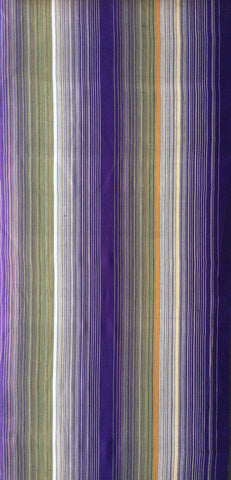 6387: Japanese 1950s silk, long view