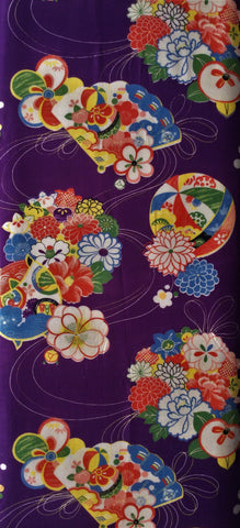 6423: 1960s Japanese Silk, long view