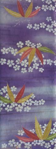 6442: 1930s Japanese Silk fabric,long view