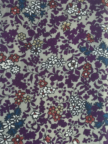 6444: 1930s Japanese Silk Fabric, close2