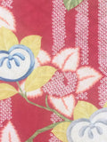 6498: 1930s Japanese Silk, peach