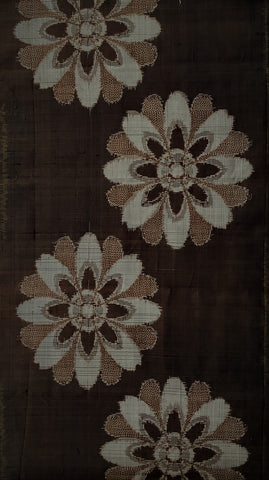 6557: 1960s Mud Ohshima Silk, 29in.view