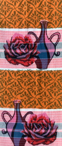 6570:1960s Japanese Cotton, yard view