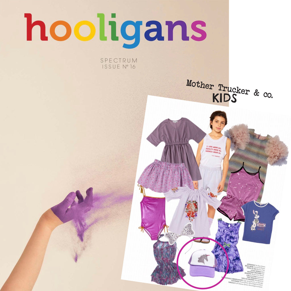 Mother Trucker KIDS in Hooligans Magazine