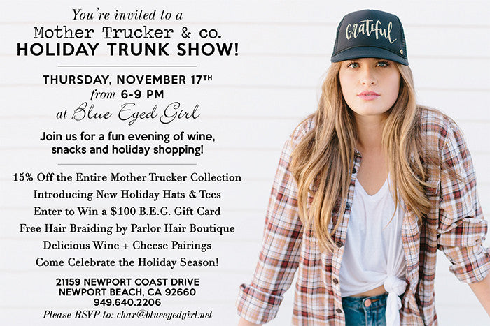 Holiday Pop-Up Shop Tonight!
