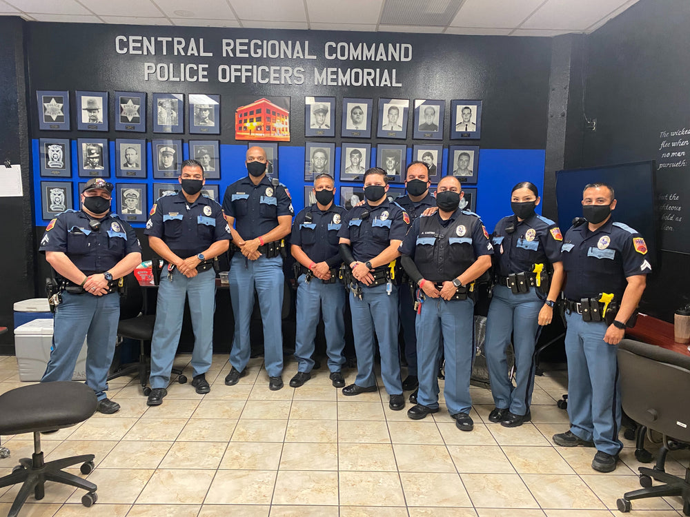 250 Masks Donated to El Paso Police Department