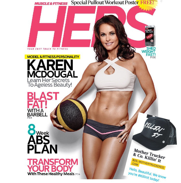 We're in Muscle & Fitness HERS!