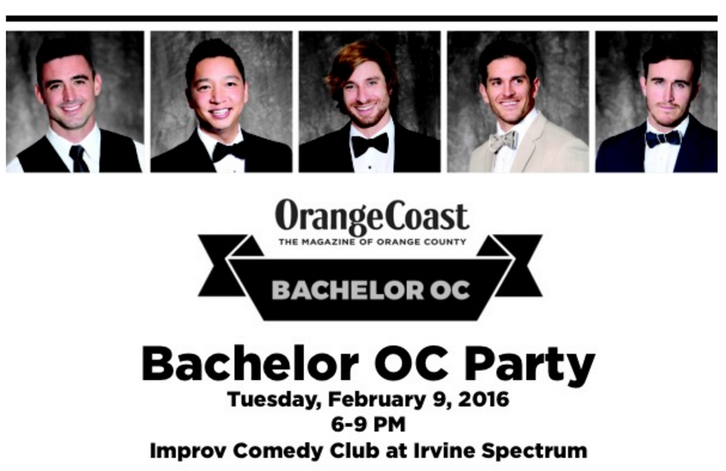 Want To Meet Some Hot OC Bachelors With Us?