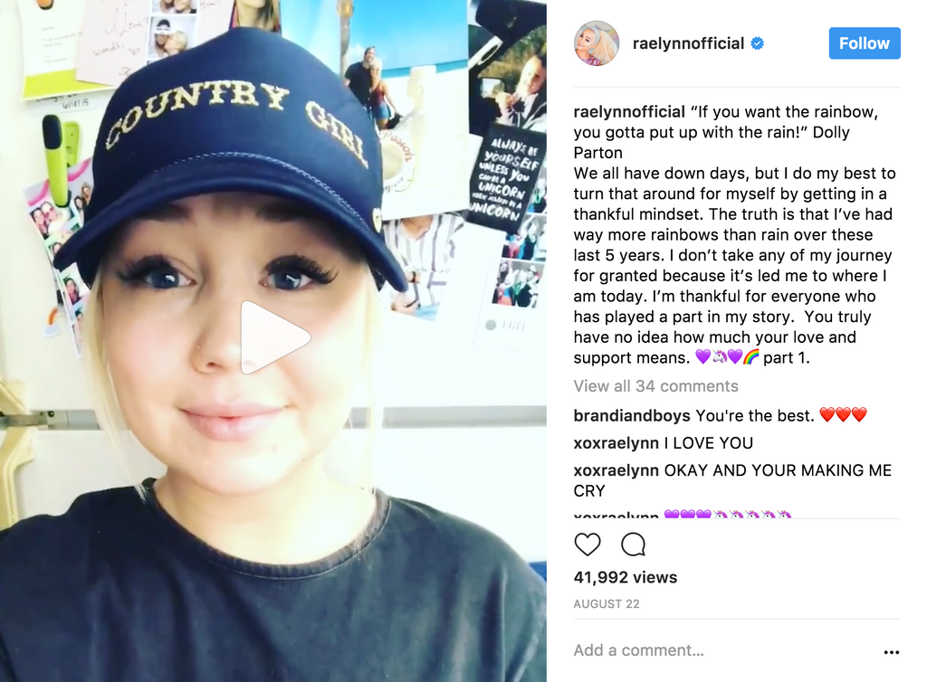 Raelynn is our Country Girl!