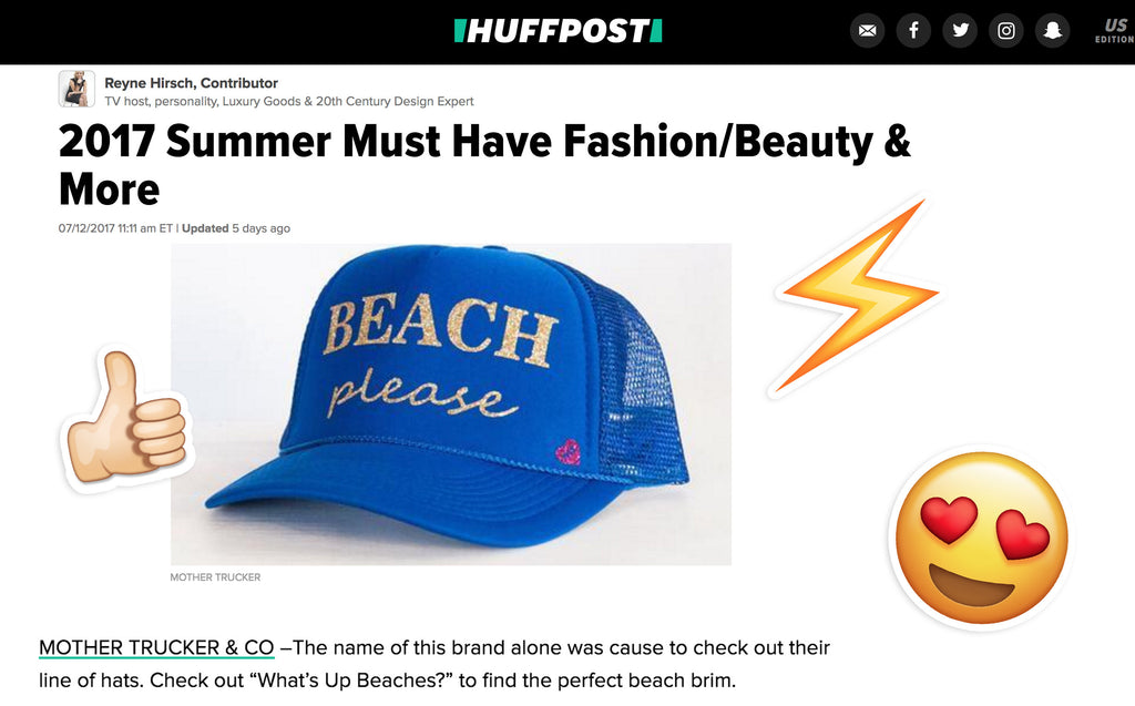 We're on the Huffington Post 2017 Summer Must Have List!