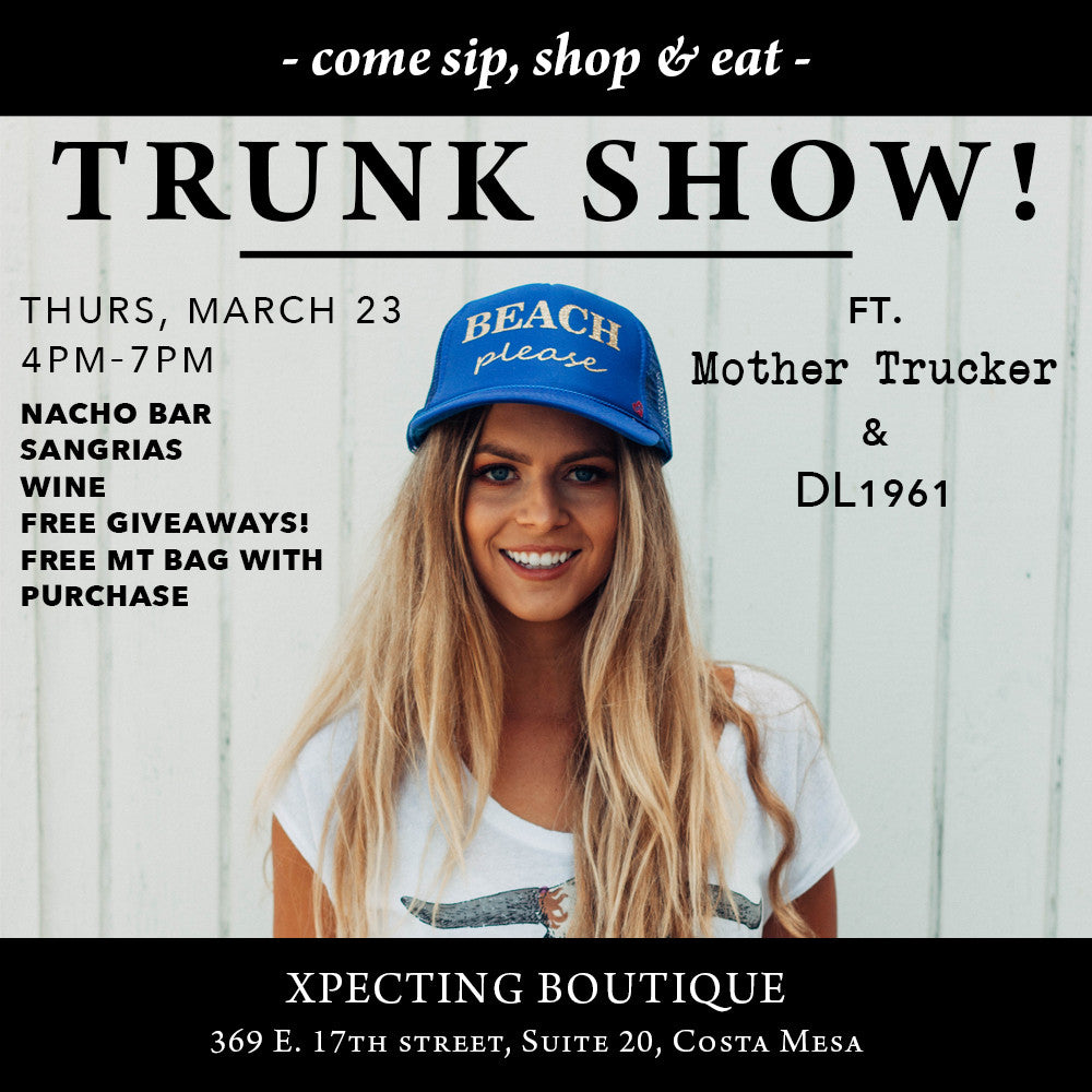 Come Shop with us TONIGHT in Costa Mesa!