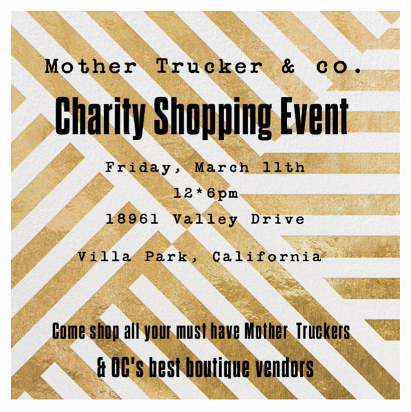 Mother Trucker & co. charity shopping event
