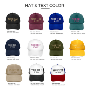 CUSTOM HATS (5 PIECES)