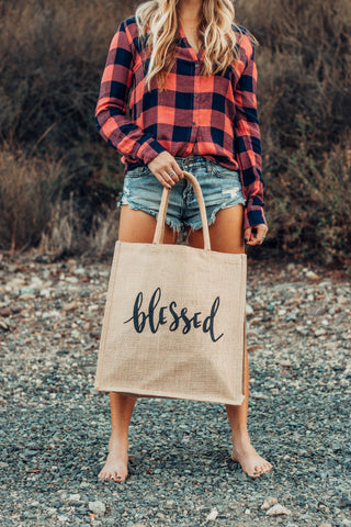 Blessed tote