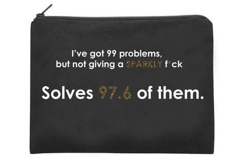 99 Problems- Large Pouch
