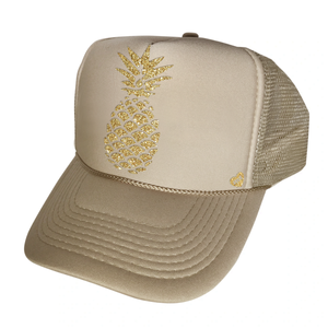 Mother Trucker Youth BOSS Girl Black and Gold Hat