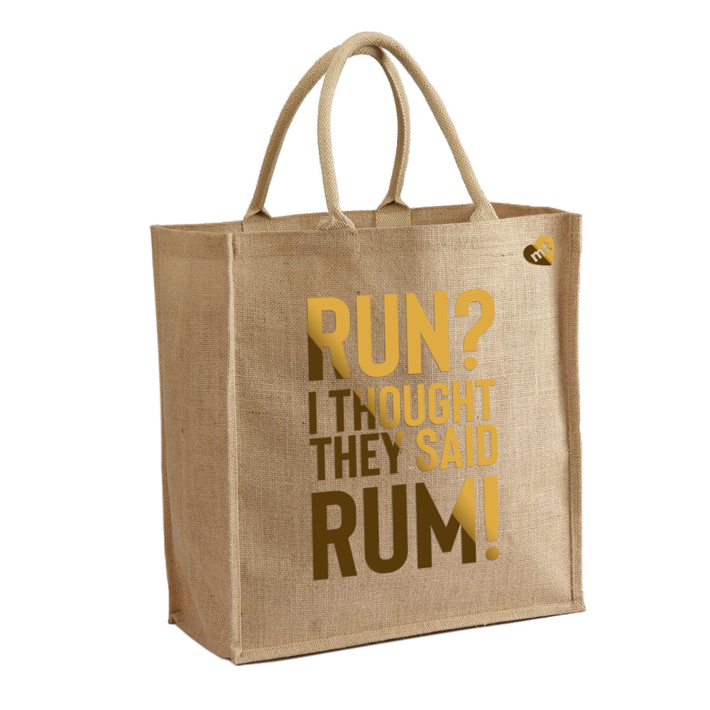 Run? I Thought They Said Rum! 1
