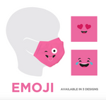EMOJI KIDS FACE MASK